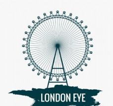 伦敦眼 摩天轮