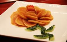 凉菜 黄瓜萝卜干拼盘造型