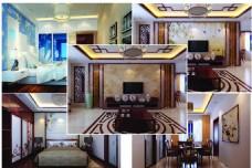 中式室内设计效果图