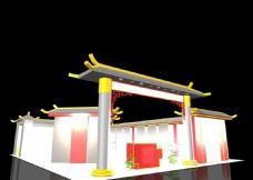 中国风展厅设计