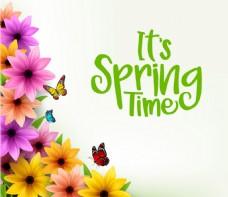 春天花朵促销