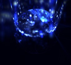 蓝色装饰画