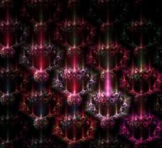 粉紫装饰画