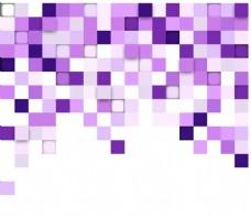 彩色方格背景