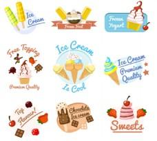 冰淇淋甜筒冰棍