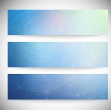 蓝色时尚线条圆点设计矢量素材