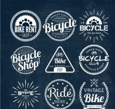 自行车店徽章