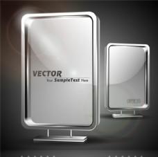 精美户外灯箱设计矢量素材