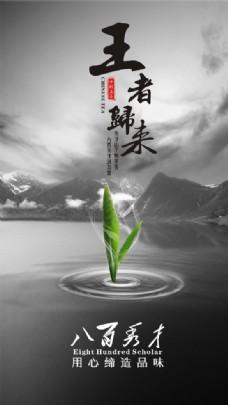 茶海报PSD创意设计