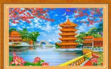 中堂画  山水画
