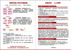 人民币宣传页