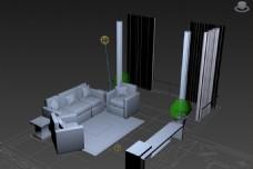 简单3D家具