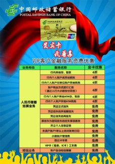 中國郵政儲蓄貴賓卡