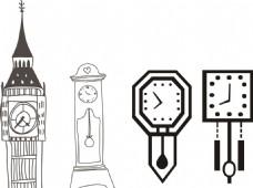建筑鐘表 掛鐘