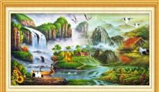 风景画设计