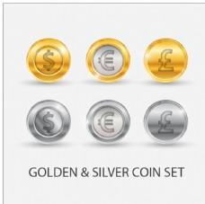 金币银币图标