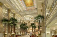 酒店 大堂 商场 中庭