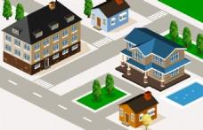 立体街区房屋