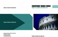 企业画册封面PSD素材