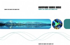 画册封面设计PSD素材