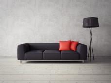 现代家居沙发摆设