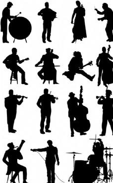 音乐家剪影