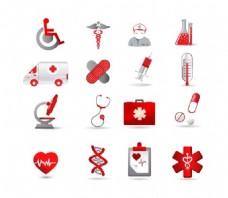 医疗卫生图标