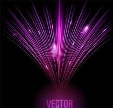 紫色光效背景矢量素材