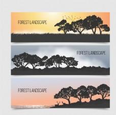 大自然景观剪影