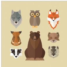 野生动物图标