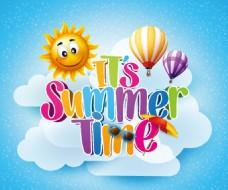 夏天创意 广告元素图片