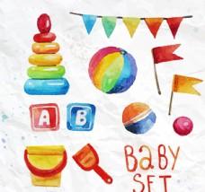 水彩绘玩具设计