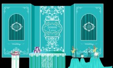 蒂芙尼蓝色主题婚庆婚礼设计