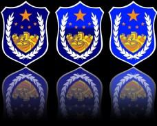 徽章素材 警徽素材