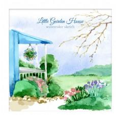 可爱的小花园洋房