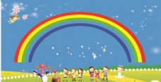 儿童节背景