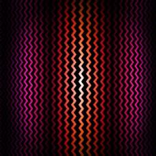 粉色和红色的曲折背景