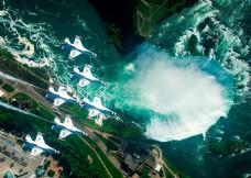 俯瞰尼加拉瓜大瀑布