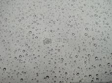 玻璃上的水滴
