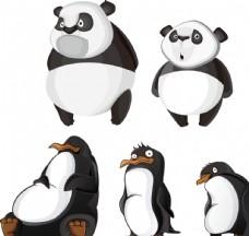 熊猫 企鹅