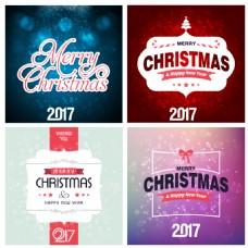 几个圣诞卡片