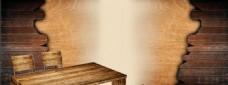 复古木板背景