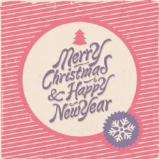 圣诞刻字,红色条纹的背景