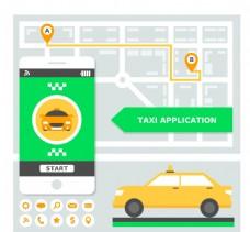 移动应用的出租车公司