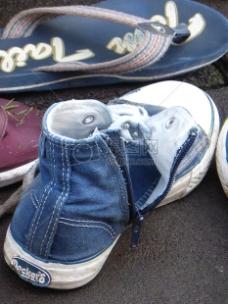 休闲类别的鞋子