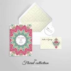 婚礼邀请函设计图片1