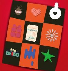 圣诞礼物和五角星