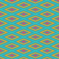 彩色菱形形状的图案