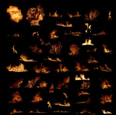 超炫爆炸效果 火元素