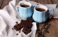 咖啡与巧克力